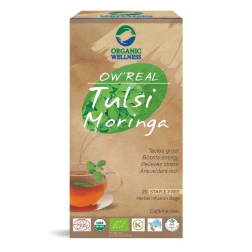 buy Organic Wellness Tulsi Moringa Tea Bags in UK & USA