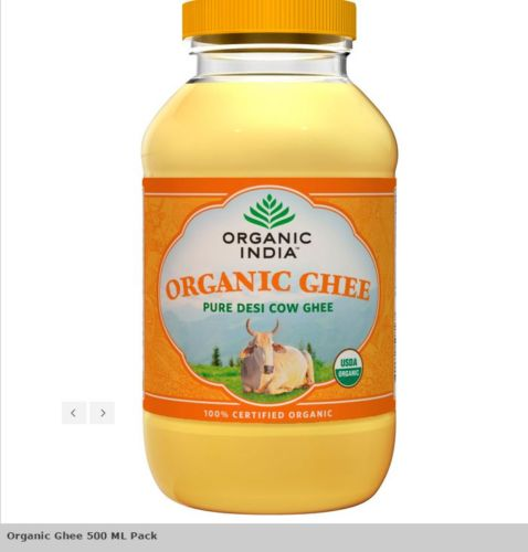buy Organic India Desi Ghee Pure Cow Ghee in UK & USA