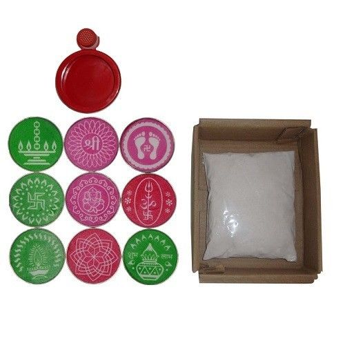buy Rangoli Kit – (9 Stencil) in UK & USA