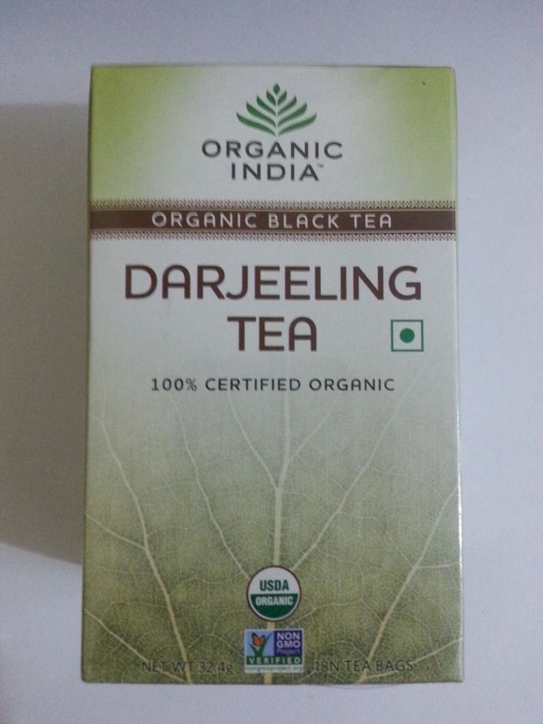 buy Organic India Darjeeling Black Tea Bags in UK & USA