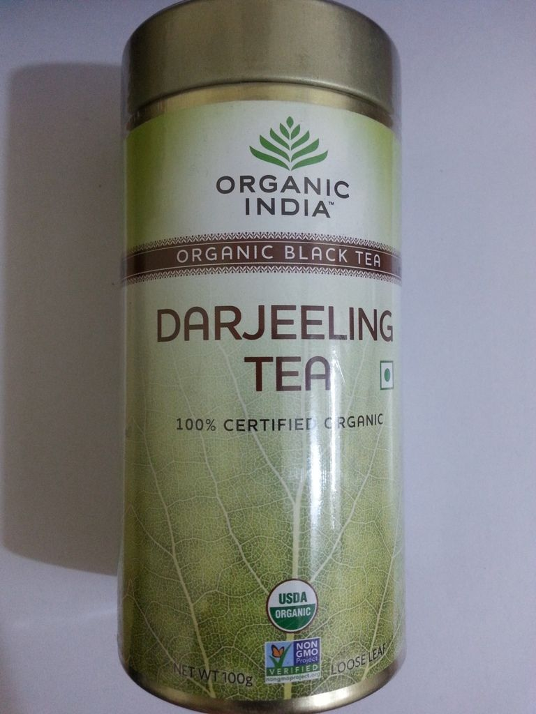 buy Organic India Darjeeling Tea 100g tin in UK & USA
