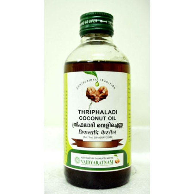 buy Vaidyaratnam Triphaladi Kera/Coconut Thailam in UK & USA