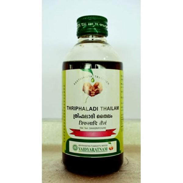 buy Vaidyaratnam Thriphaladi Thailam in UK & USA