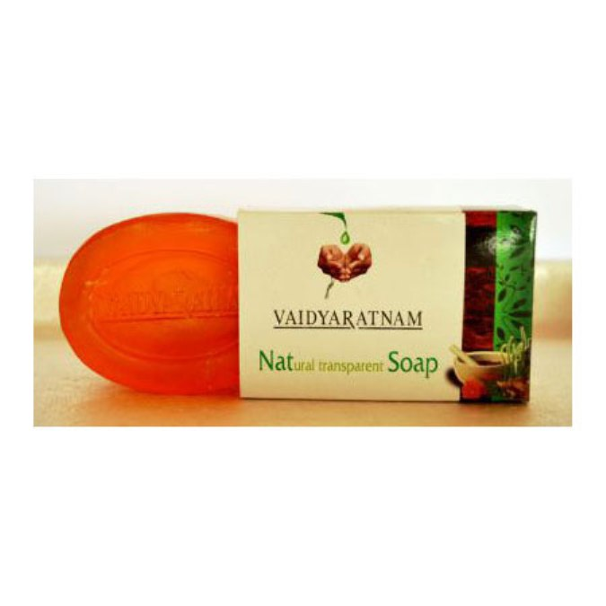 buy Vaidyaratnam Natural Transparent Soap in UK & USA