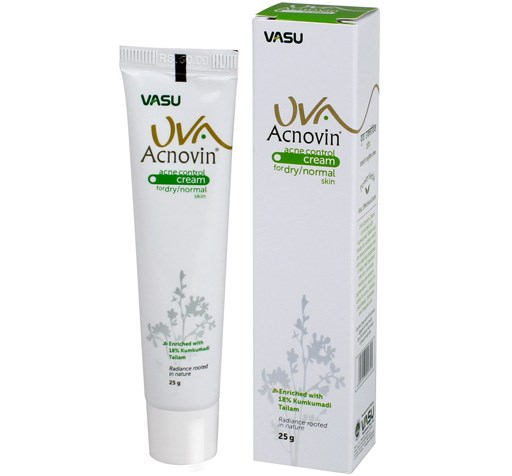 buy Vasu UVA Acnovin Cream in UK & USA