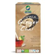 buy Organic Wellness Ginger Black Tea Bags in UK & USA