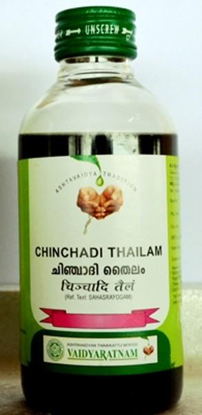buy Vaidyaratnam Chinchadi Thailam in UK & USA