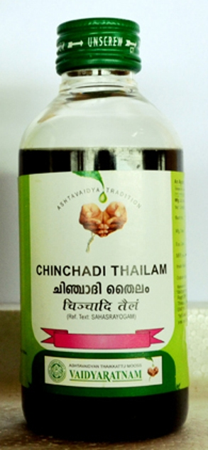buy Vaidyaratnam Chinchadi Thailam in UK & USA