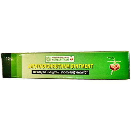 buy Vaidyaratnam Jathyadi Ghrutham Ointment in UK & USA