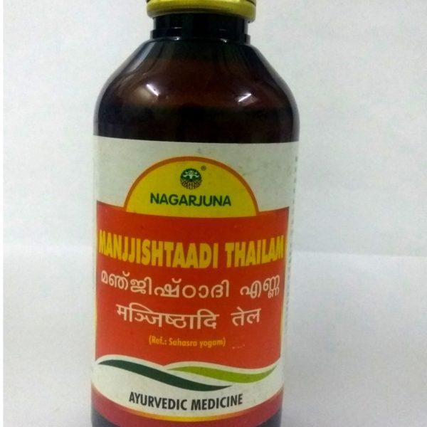 buy Nagarjuna Herbal Manjjishtaadi Thailam in UK & USA
