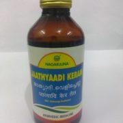 buy Nagarjuna Herbal Jaathyaadi Keram/Thailam in UK & USA