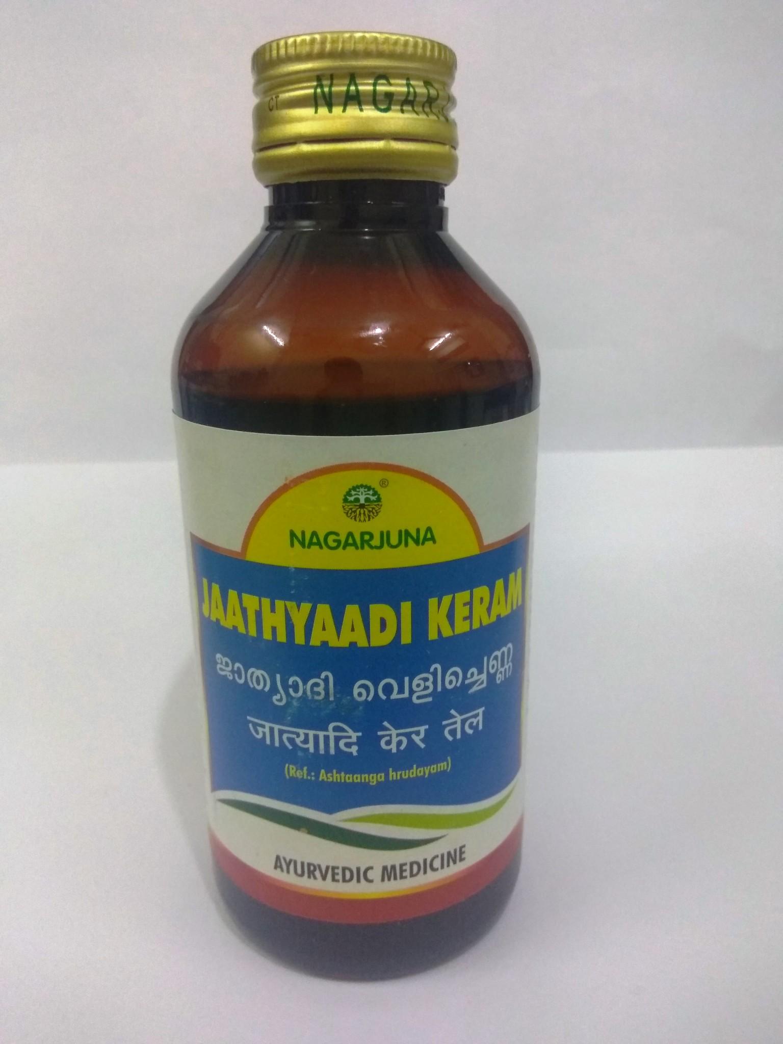 Buyers of herbal product - Buy Nagarjuna Herbal Jaathyaadi Keram Thailam In Uk Usa
