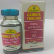 buy Gandha Thailam (10 ml) by Nagarjuna Herbal in UK & USA