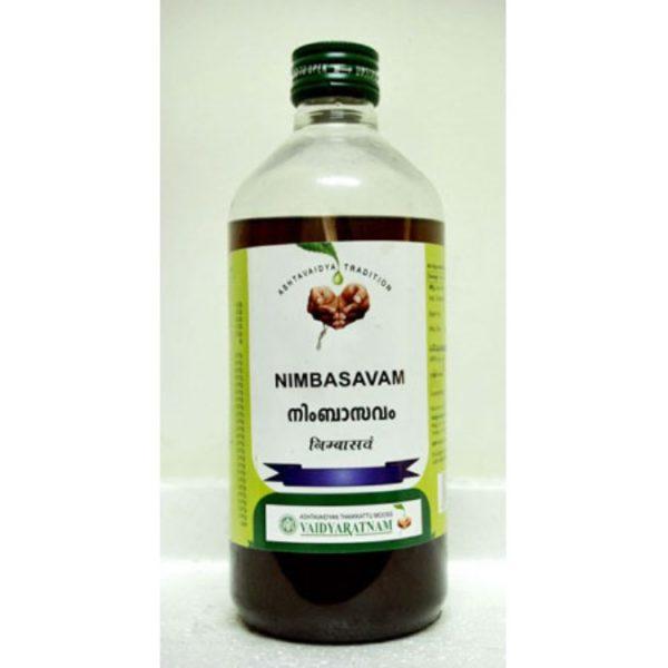 buy Vaidyaratnam Ayurvedic Nimbasavam in UK & USA