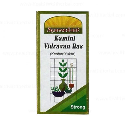buy Ayurvedant Kamini Vidrawan Ras in UK & USA